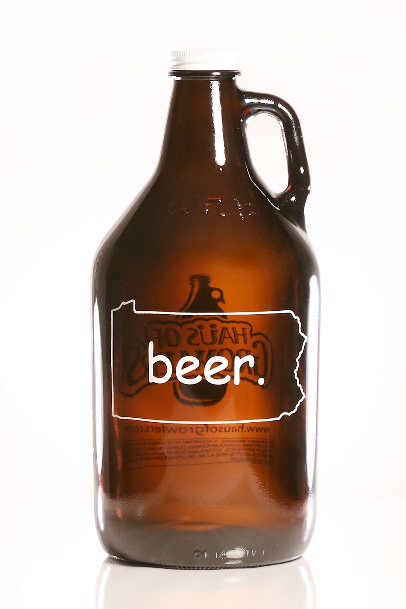 64 oz. Pennsylvania Beer Growler - Haüs Of Growlers