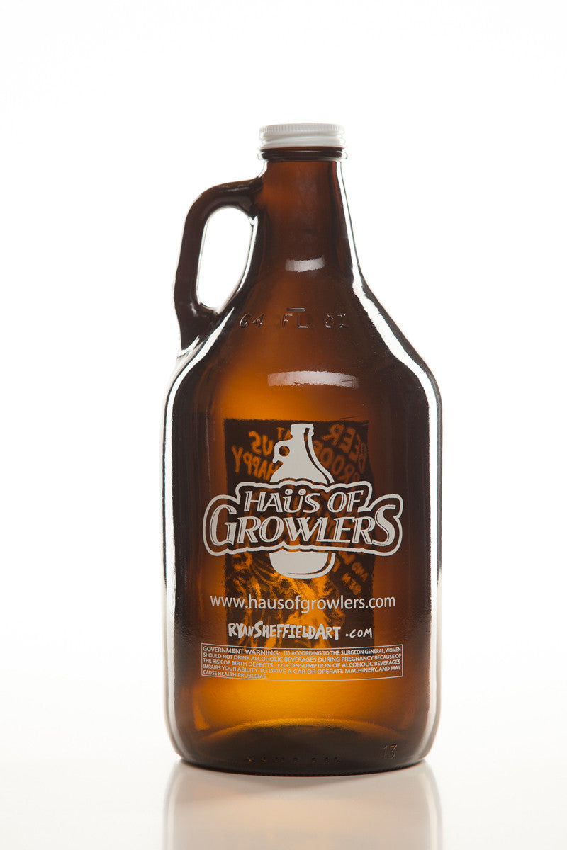 64 oz. Benjamin Franklin Growler - Haüs Of Growlers