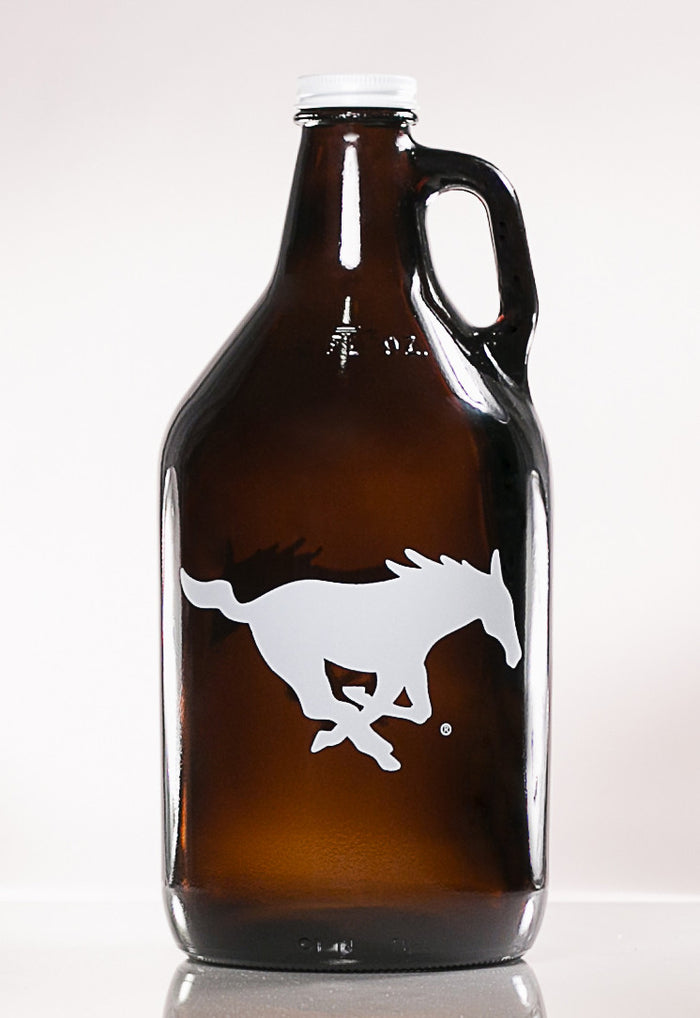 64 oz. SMU Mustang Growler (Officially Licensed) - Haüs Of Growlers