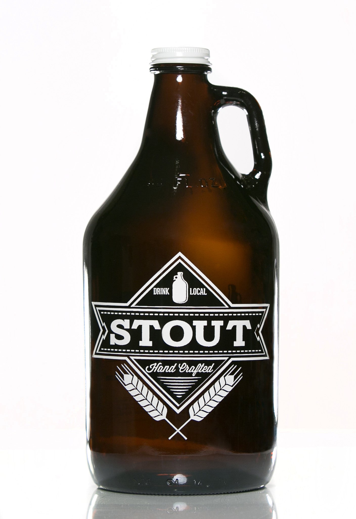 64 oz. Stout Growler - Haüs Of Growlers