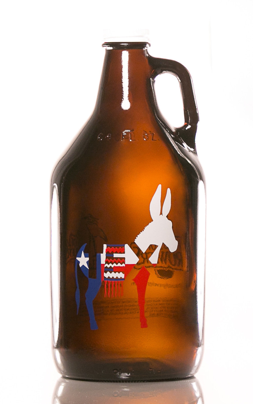 64 oz. TexASS Growler - Haüs Of Growlers