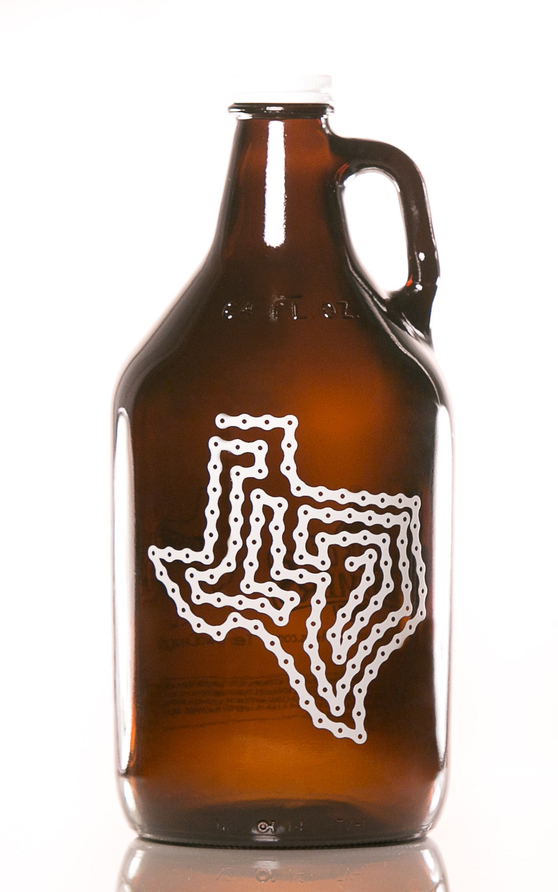 64 oz. Texas Bike Chain Growler - Haüs Of Growlers