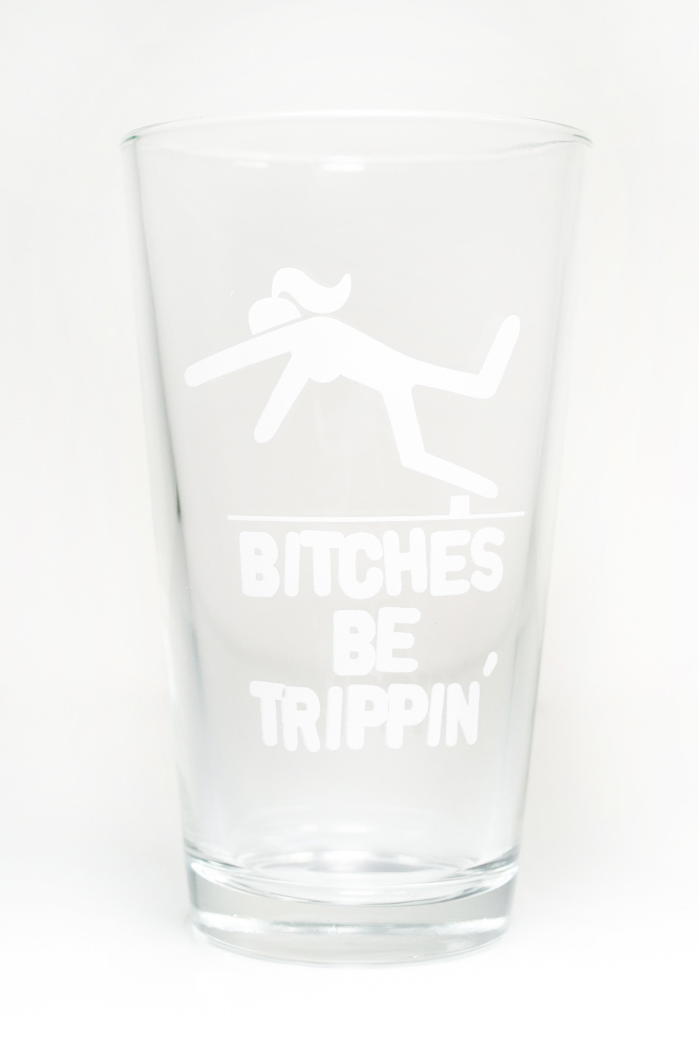 Trippin Pint Glass