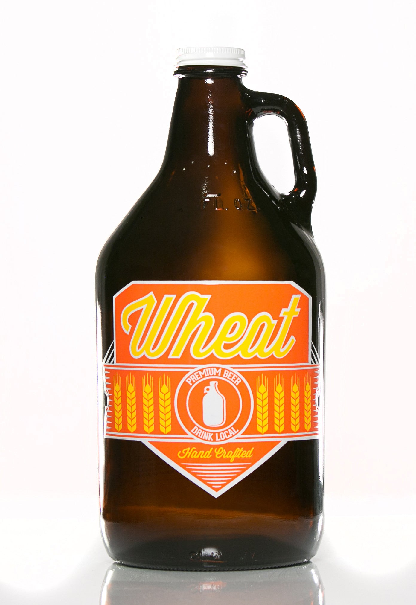 64 oz. Wheat Growler - Haüs Of Growlers - 1