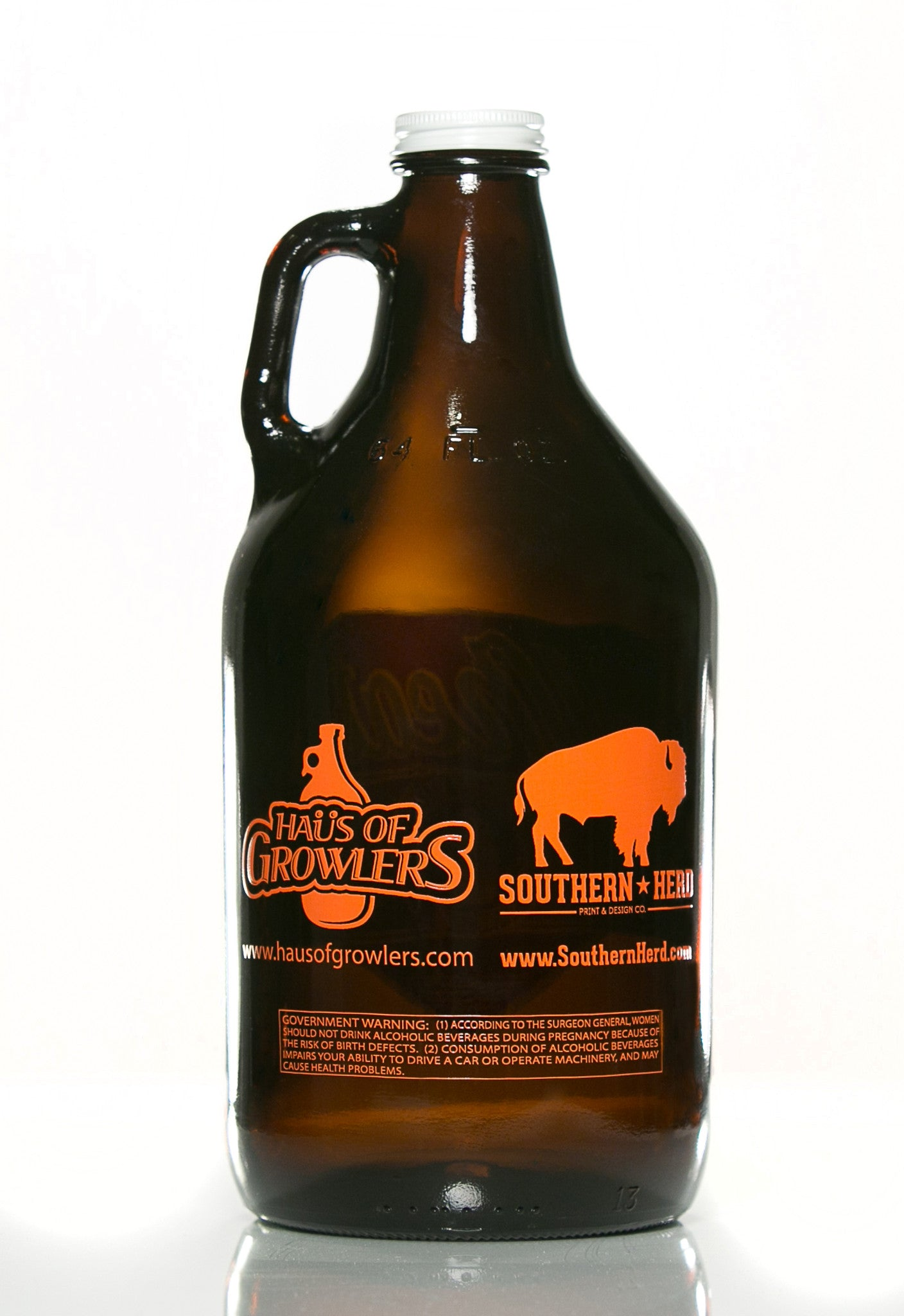 64 oz. Wheat Growler - Haüs Of Growlers - 2