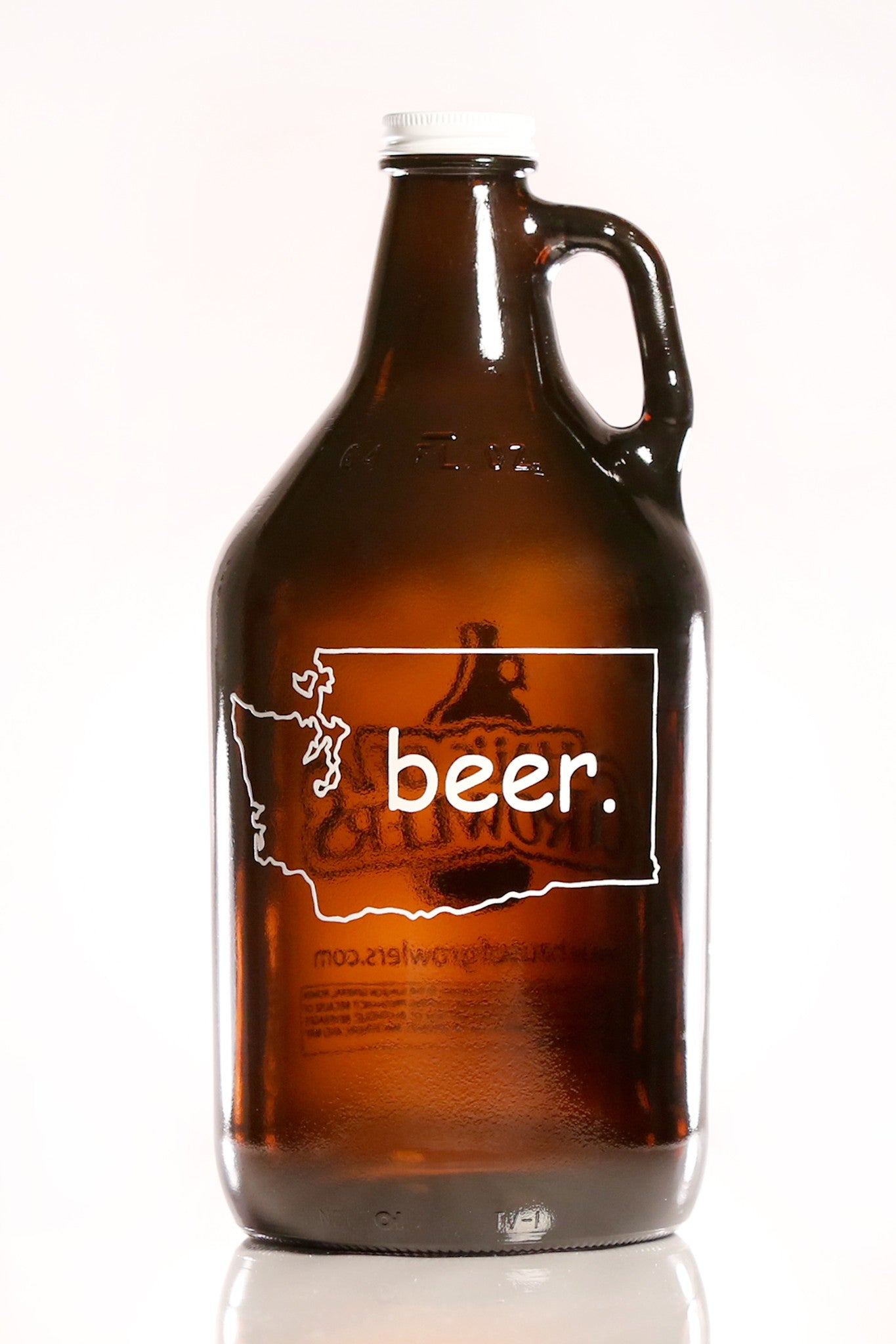 64 oz. Washington Beer Growler - Haüs Of Growlers