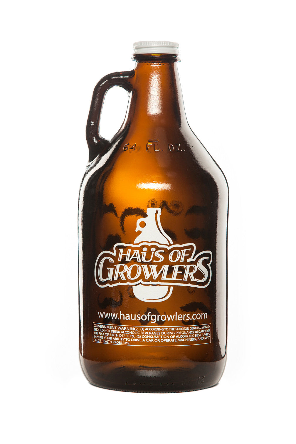 32 oz. Johnny Cash Growler - Haüs Of Growlers