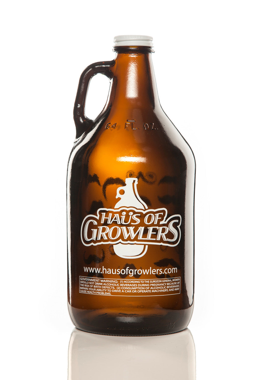 64 oz. Oregon Beer Growler - Haüs Of Growlers