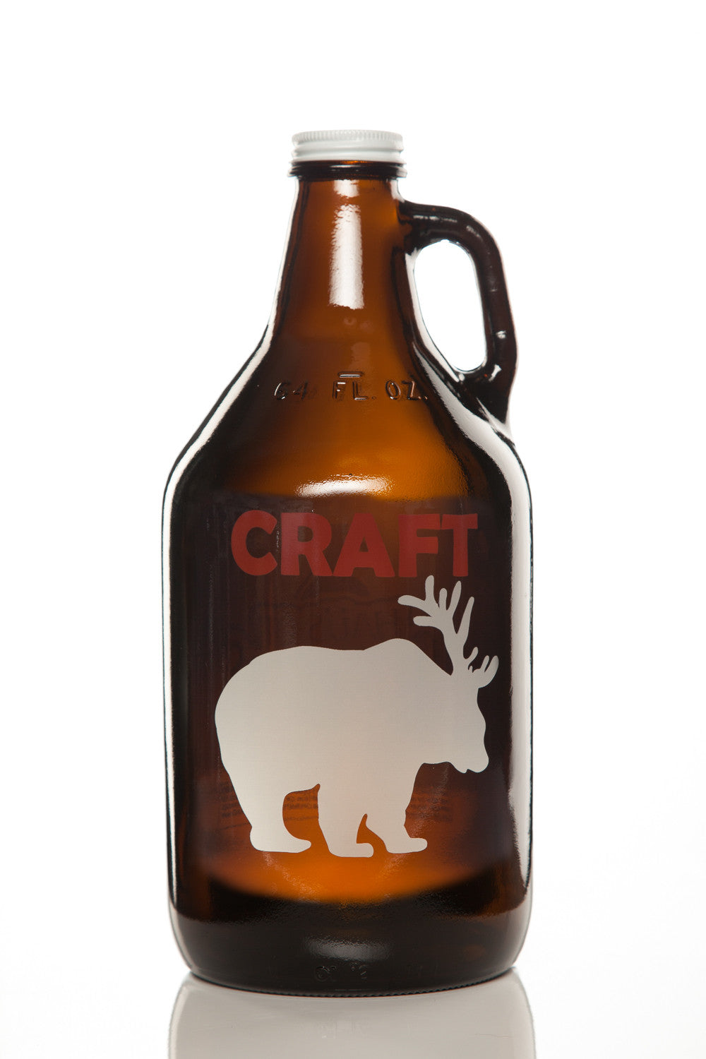 64 oz. Craft Beer Growler - Haüs Of Growlers