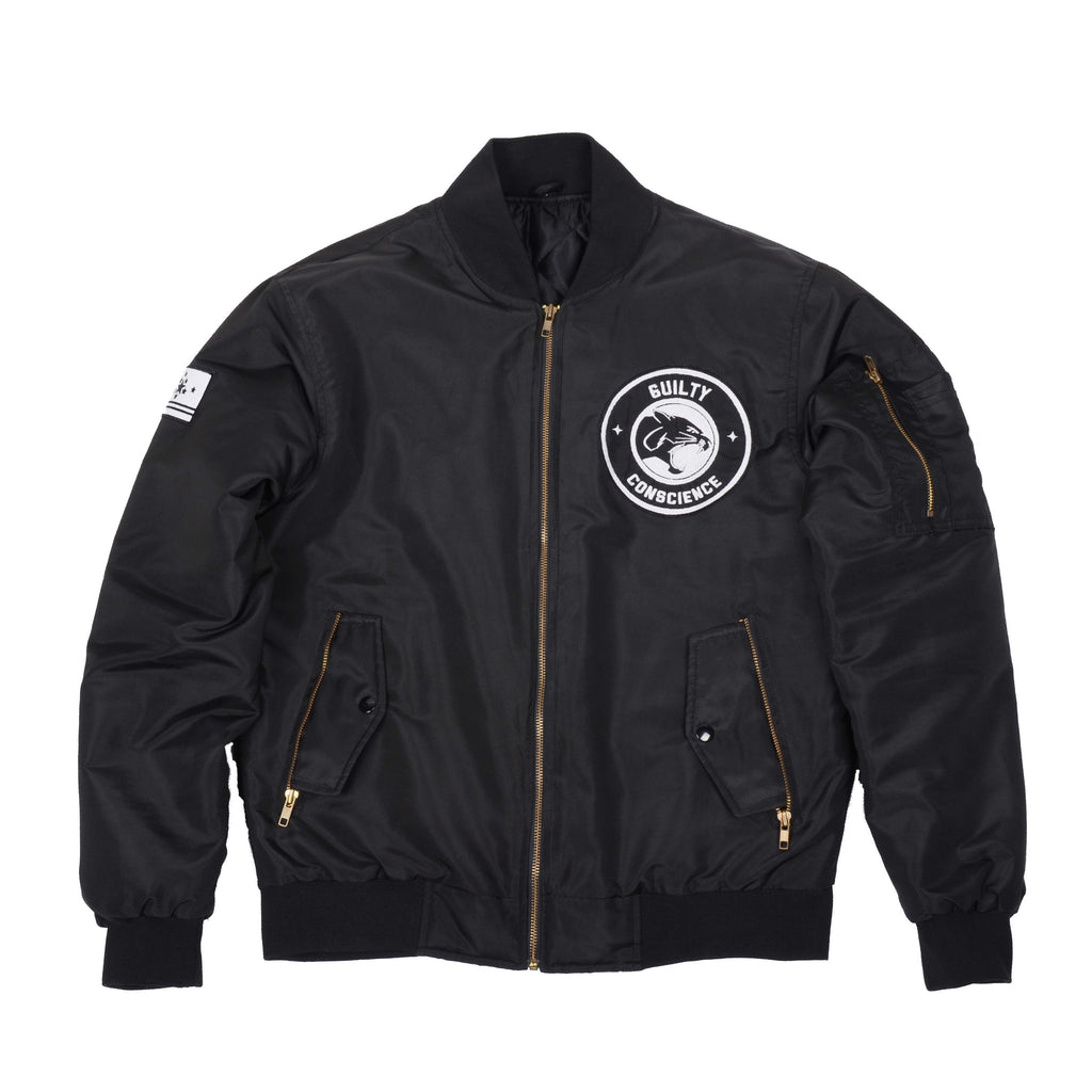 ccb73e6484b Panther Bomber Jacket – Guilty Conscience Clothing Company