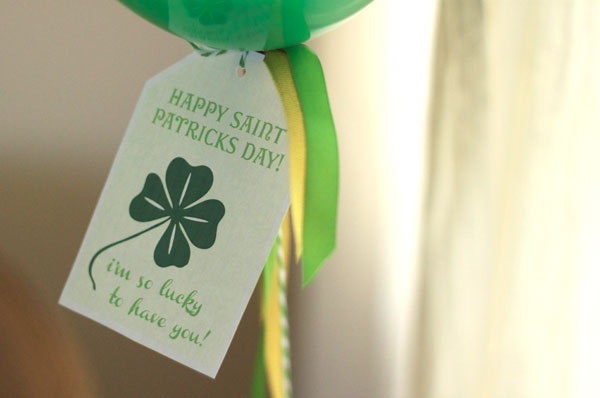 CAKE St. Patrick's Day Tags