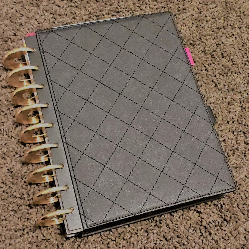 Black Hard Cover Happy Planner Classic