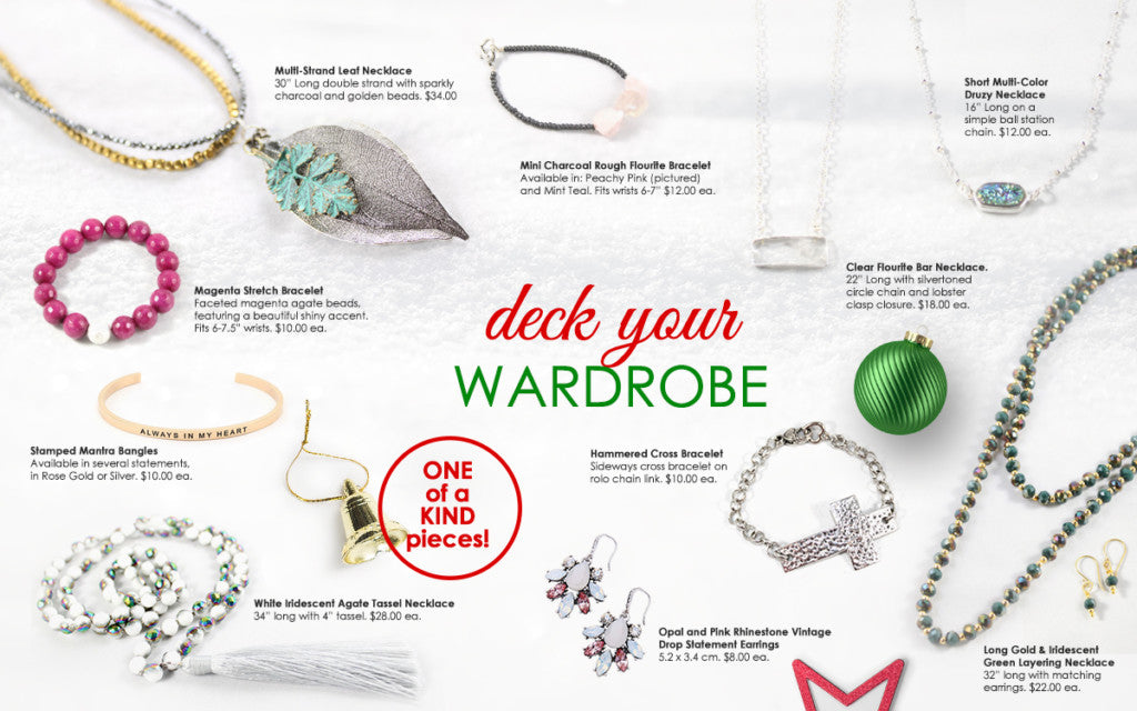 2017 Holiday Gift Guide - Spilled Glitter Jewelry