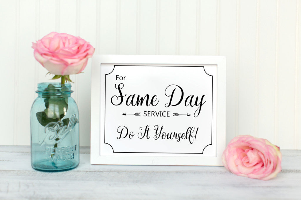 For same day service do it yourself laundry room printable