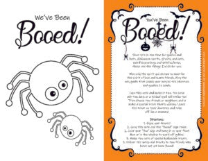 You've Been Booed Alternative to Trick or Treating Safe Trick or Treat for Kids