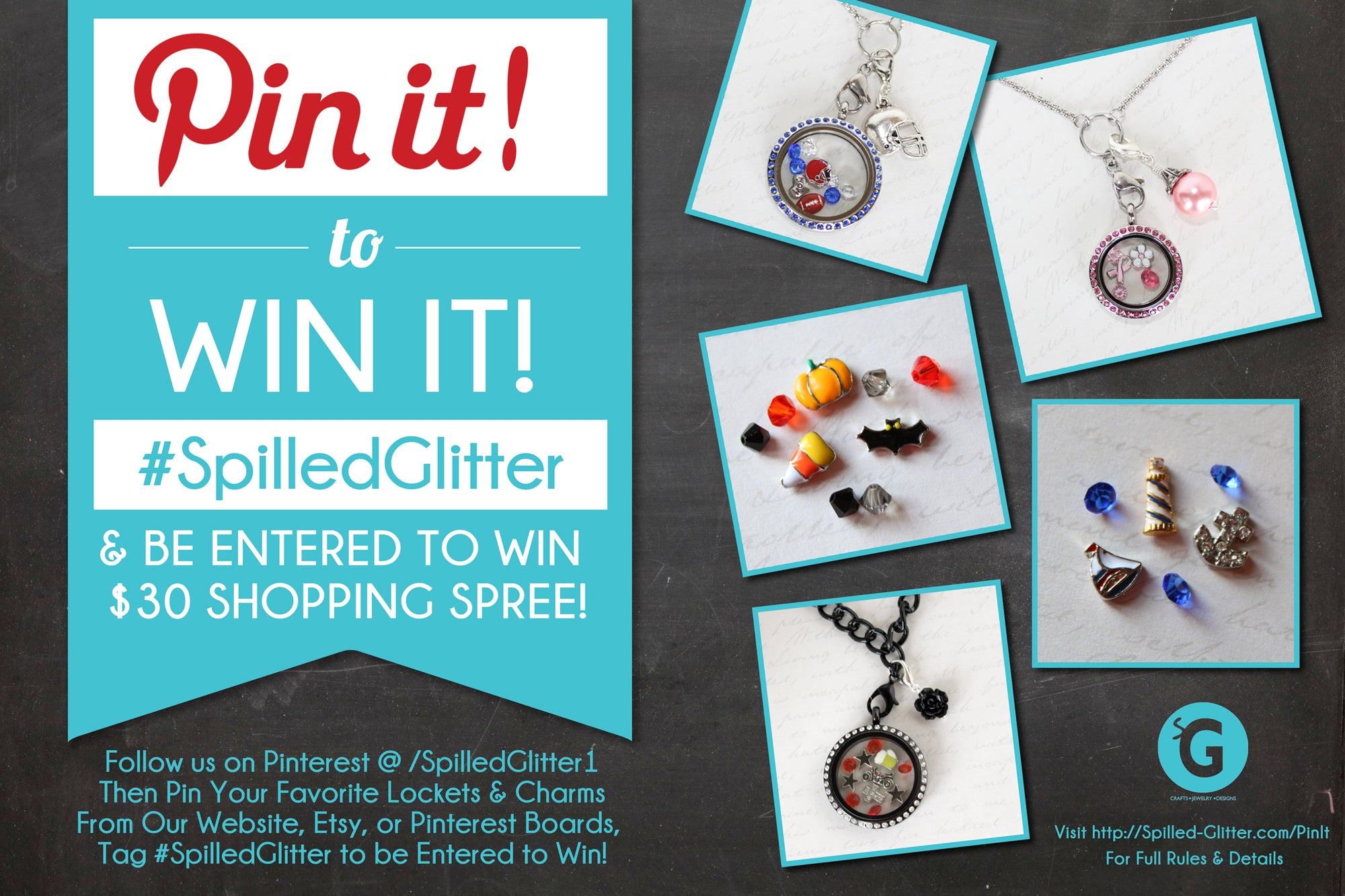 Pin it to Win It Pinterest $30 Giveaway Contest
