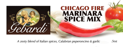 Gebardi Chicago Fire Marinara Spice Mix