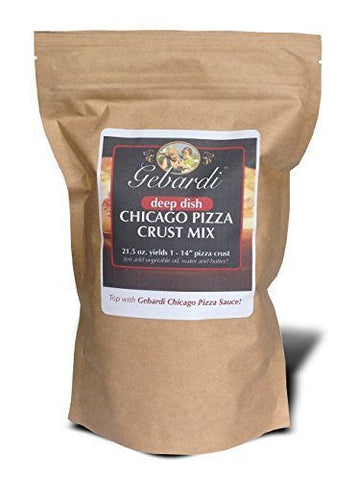 Gebardi Deep Dish Chicago Pizza Crust Mix