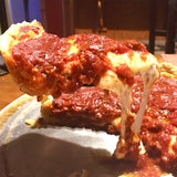 Baked Gebardi Deep Dish Chicago Pizza