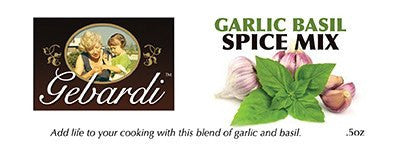 Gebardi Garlic Basil Spice Mix