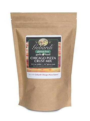 Gebardi Gluten Free Garlic Basil Pizza Crust Mix
