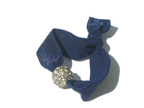 Midnight Bling - New Zealand Hand-made hair ties and headbands