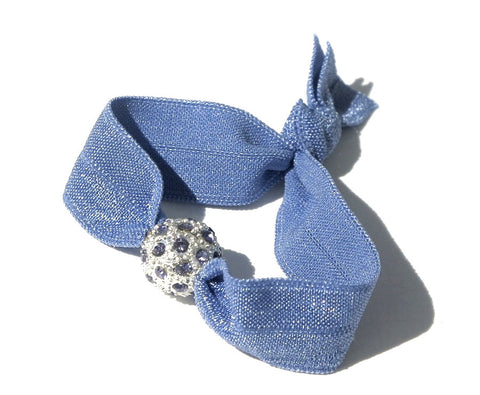 Periwinkle Twinkle - New Zealand Hand-made hair ties and headbands
