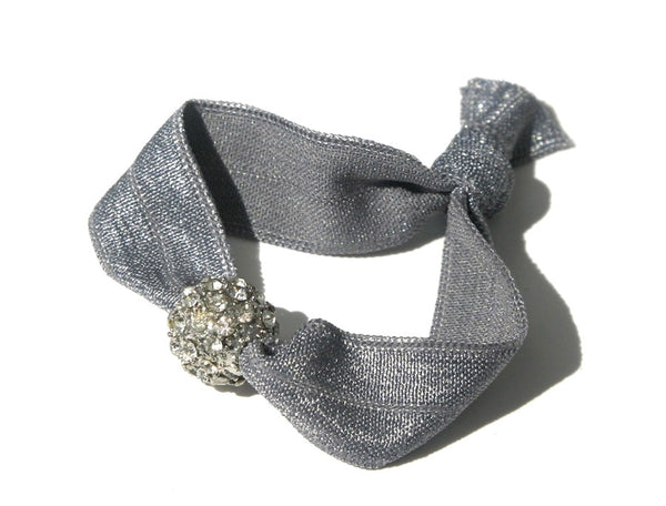 Pretty Pewter - New Zealand Hand-made hair ties and headbands