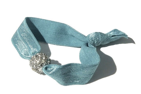 Tootin Turquoise - New Zealand Hand-made hair ties and headbands