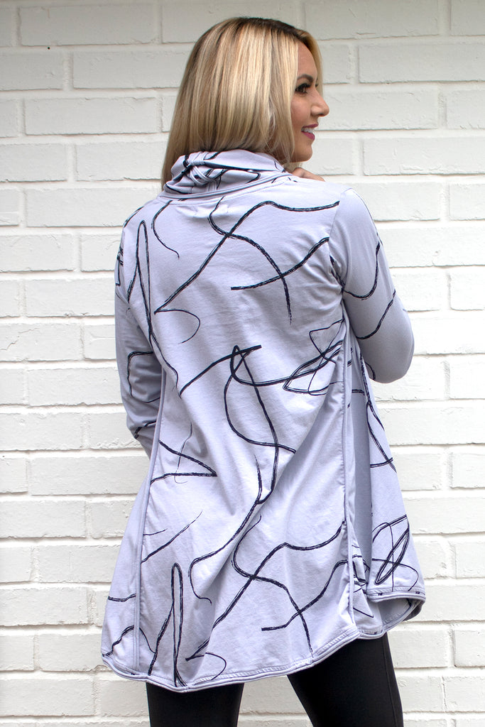 Addison Tunic - Cloud Ribbon Dance by Tulip Clothing