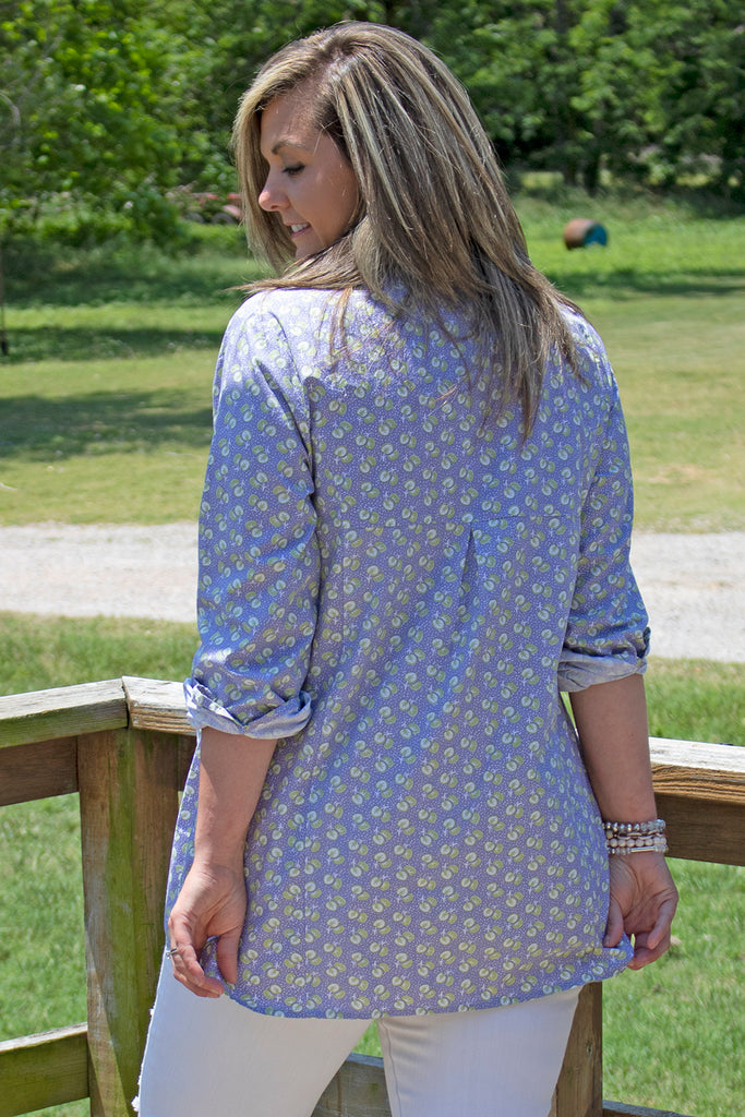 Dixie Tunic - Daybreak by Tulip Clothing