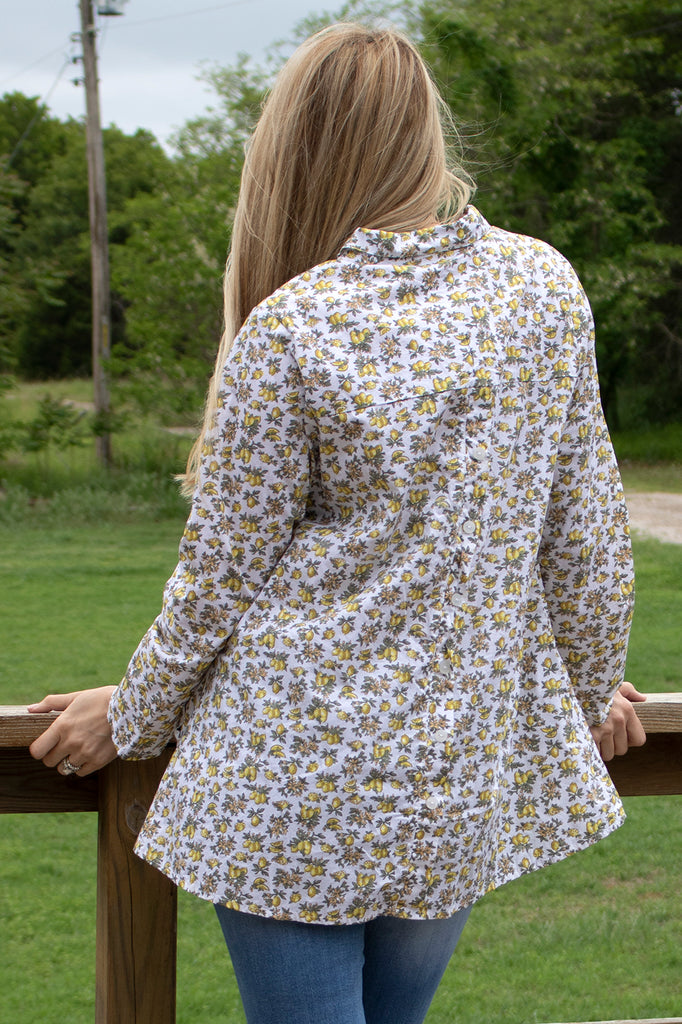 Logan Blouse - Lemonade by Tulip Clothing