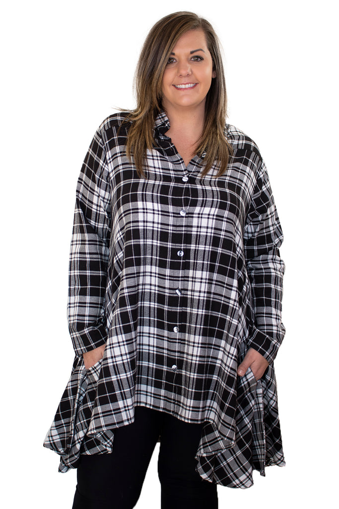 Lulu Shirt Dress - Carnegie by Tulip Clothing