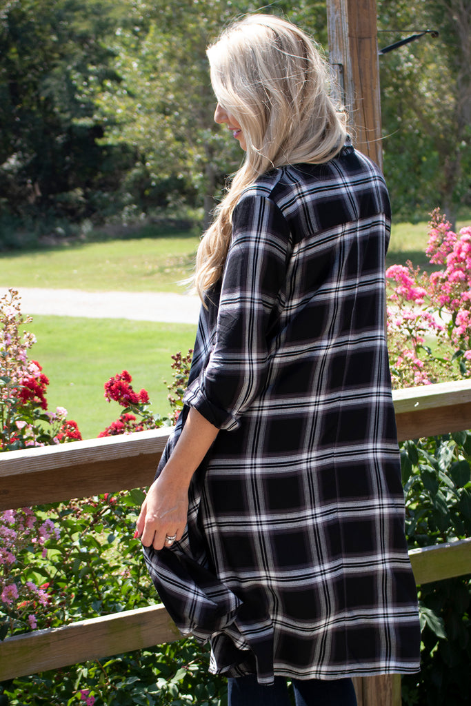 Lulu Shirt Dress - Lenox Plaid by Tulip Clothing