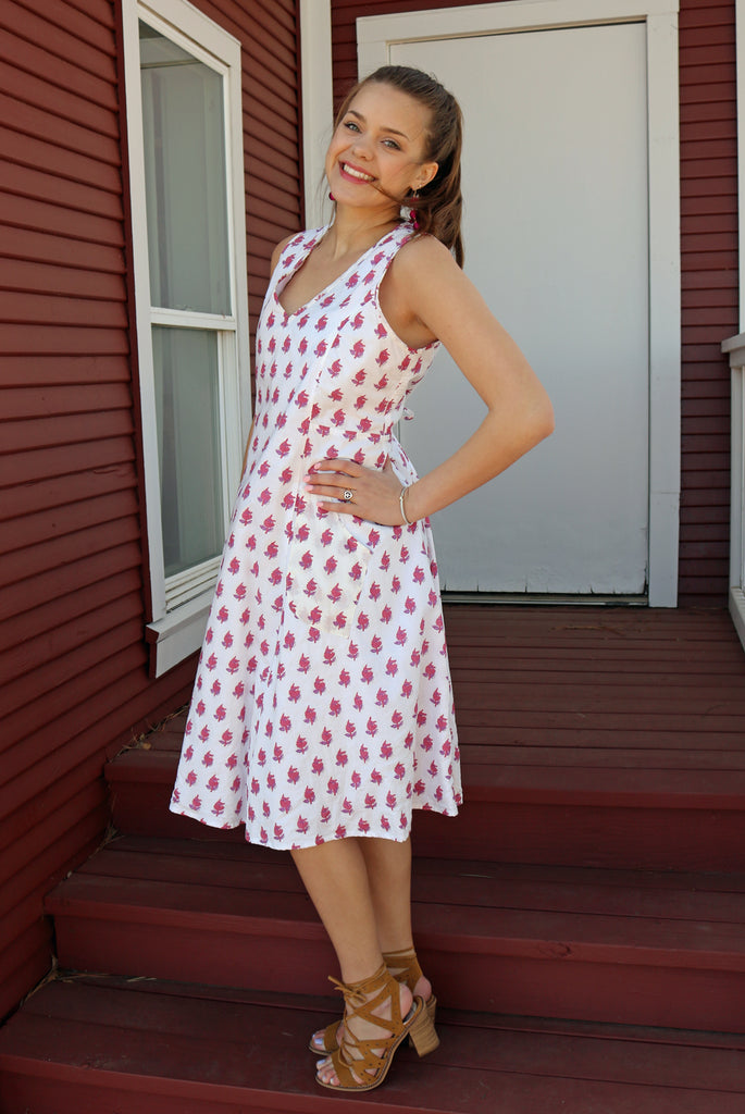 Myla Dress - Cherry Tree by Tulip Clothing
