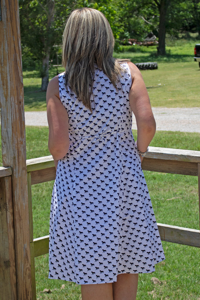 Myla Dress - Ponies by Tulip Clothing