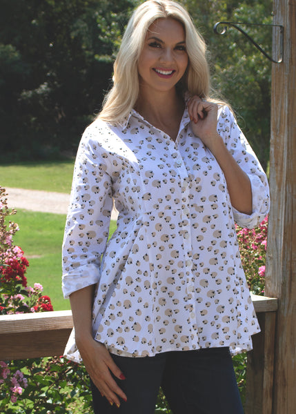 Perry Blouse - Sheep