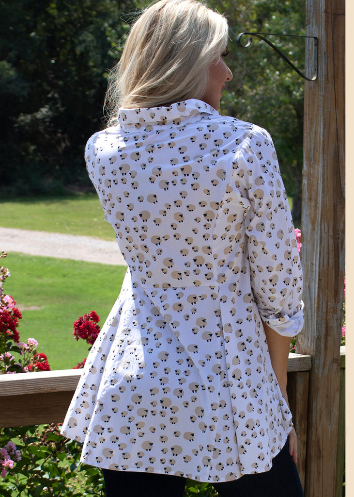 Perry Blouse - Sheep by Tulip Clothing