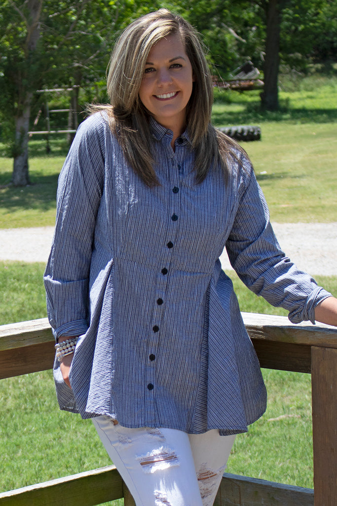 Perry Blouse - Vanderbuilt by Tulip Clothing