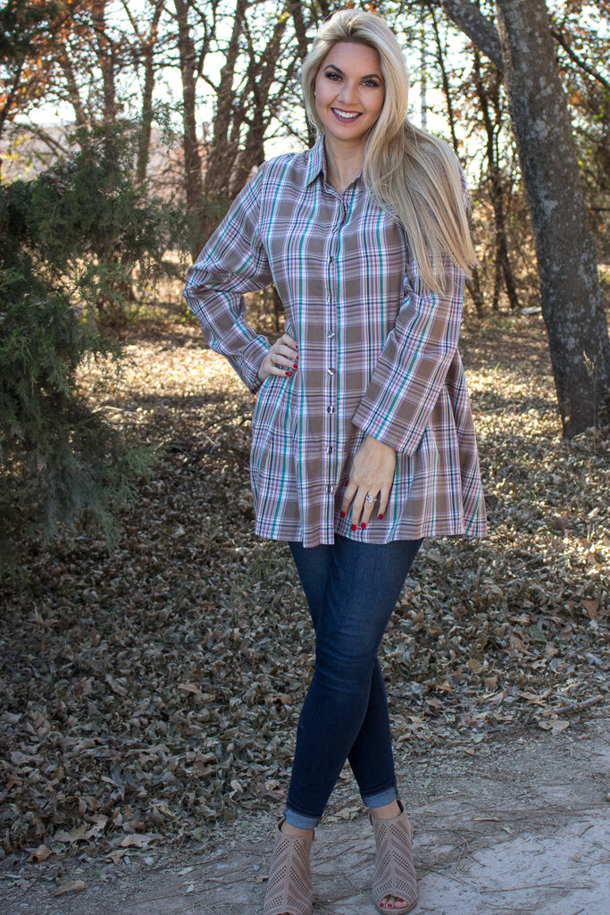 Zoe Shirt - Timmons by Tulip Clothing