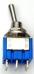 Mini Toggle DPDT Solder Lug (on-on)