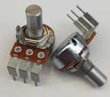 """B"" Taper 16mm PC-Mount Potentiometer"