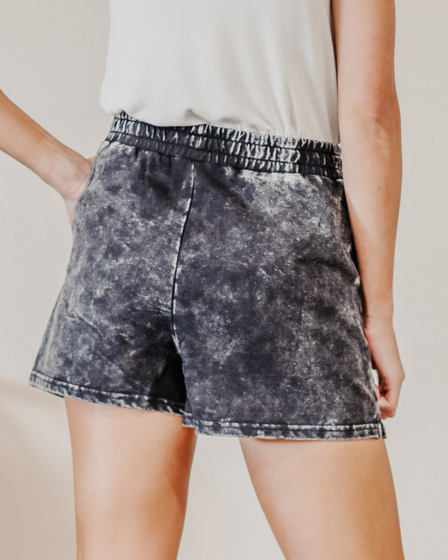 Elise Acid Wash Shorts