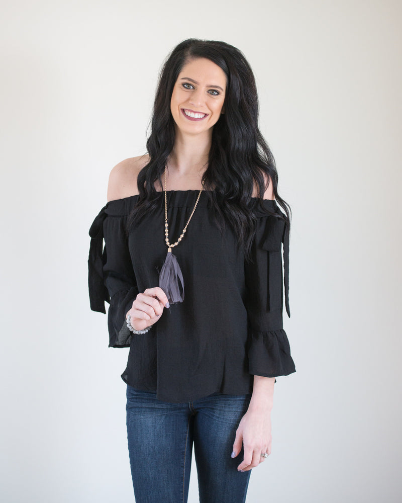 Show Off the Shoulder Top | Rose & Remington