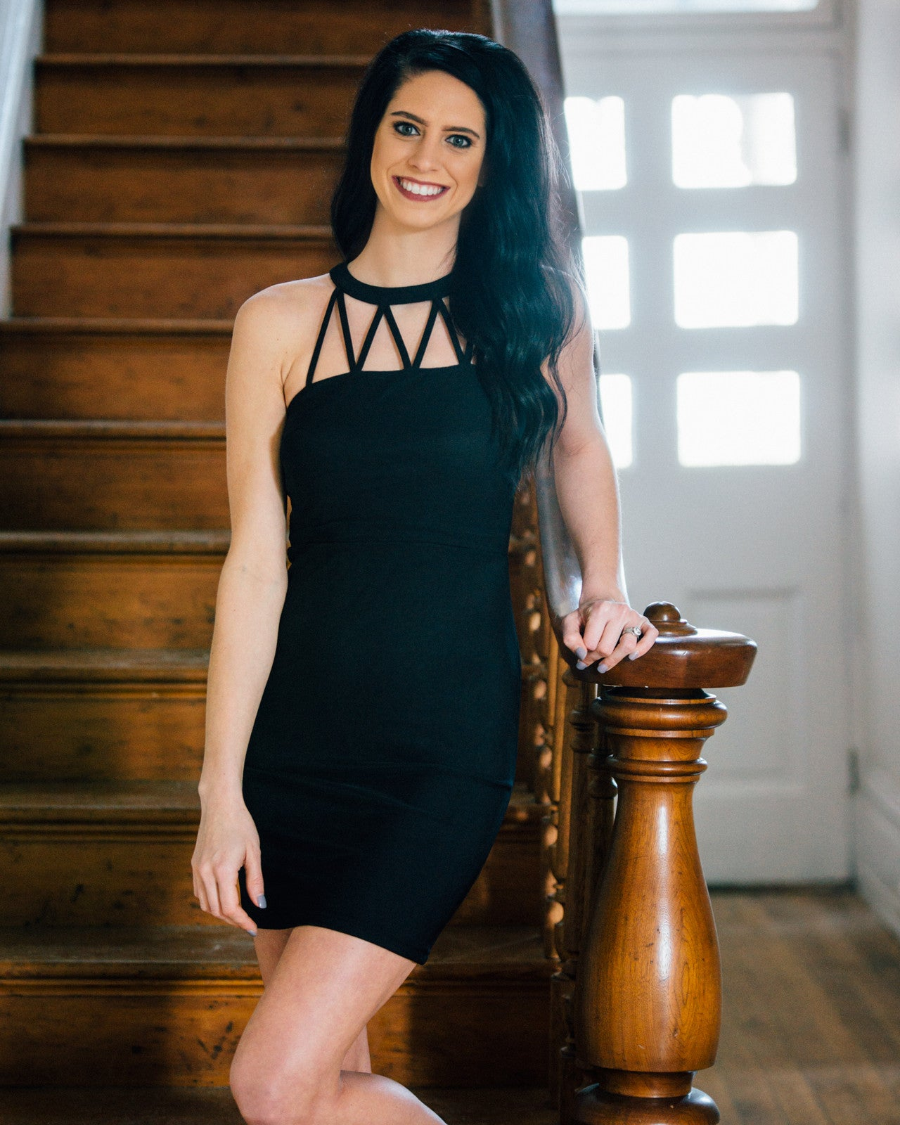 Strappy Little Black Dress | Rose & Remington