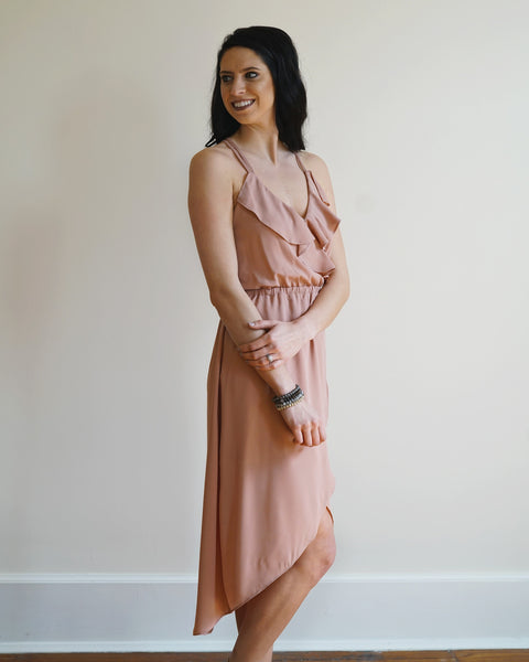Lynn Dusty Rose High-Low Dress