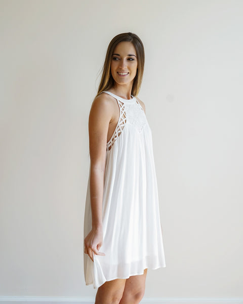 Little White Summer Dress