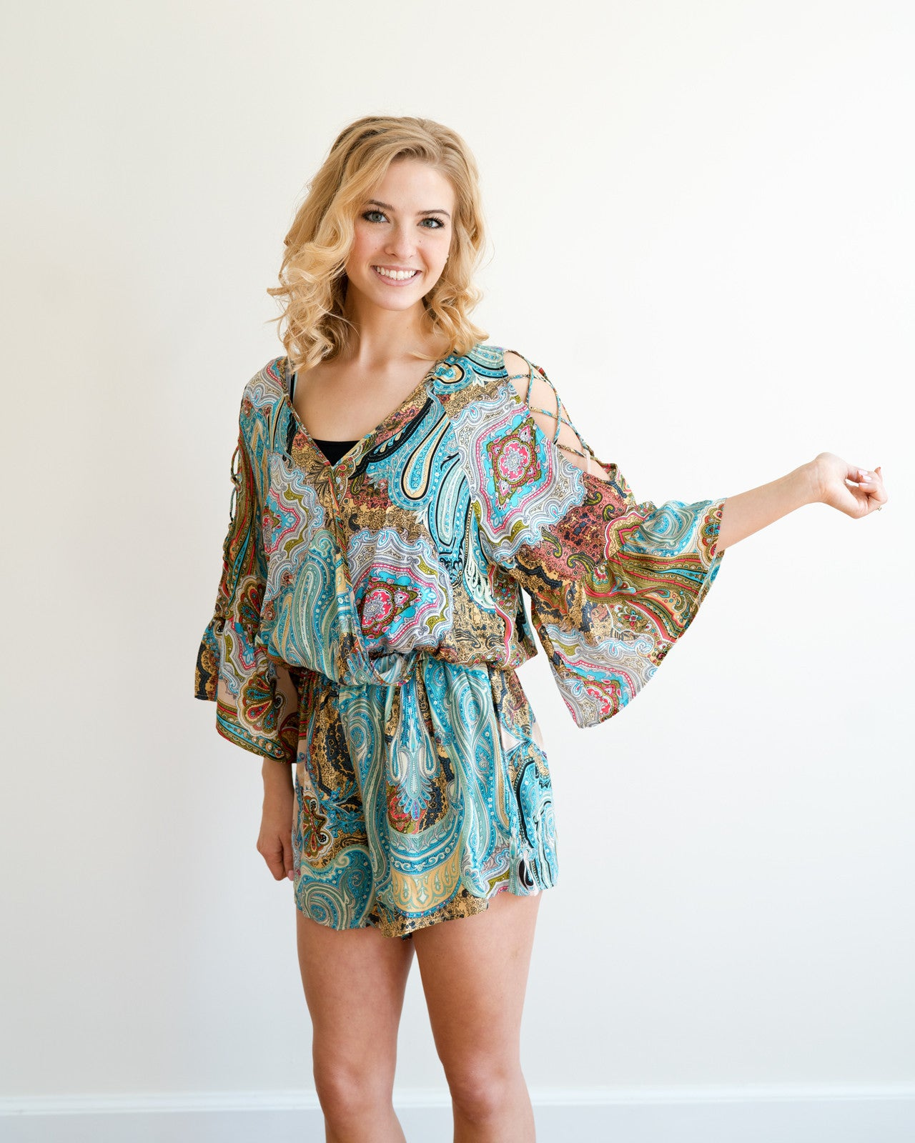 Paisley Dreams Romper | Rose & Remington