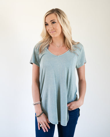 Cute and Casual Sage Top