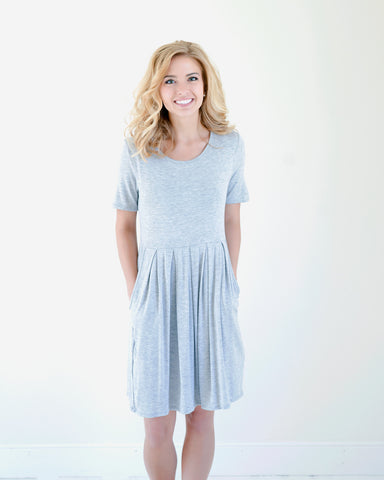 Cute Basic Dress with Pockets